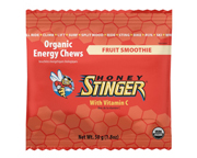 HONEY STINGER CHEWS MASTICABLES ENERGIZANTES 10 UNID FRUIT SMOOT